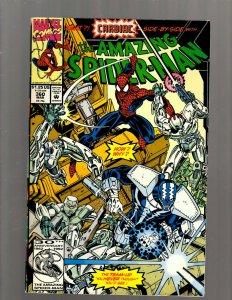 The Amazing Spider-Man # 360 VF/NM Marvel Comic Book Carnage Venom Cardiac J450