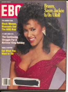 Ebony 1/1988-Jackee-Martin Luther King-pix-info-G