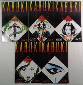 Kabuki Circle of Blood Lot #1 2 3 4 5 Caliber Comics 1995
