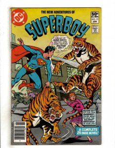 The New Adventures of Superboy #13 (1981) DC Comic Superman OF8