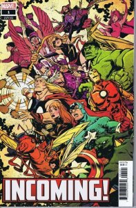 Incoming! #1 2019 Marvel Comics Sanford Greene Cover