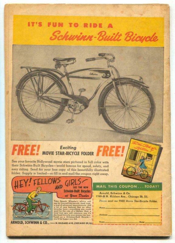 Target Vol. 7 #7 1946-Targeteers-Chameleon-Cadet-whipping cover VG