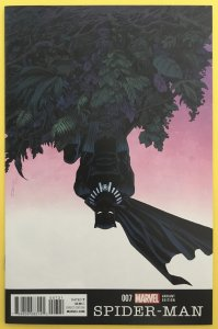 SPIDER-MAN 7 BLACK PANTHER VARIANT COVER MARVEL 2016