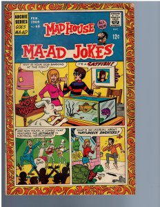 Archie's Madhouse #66 (1969)