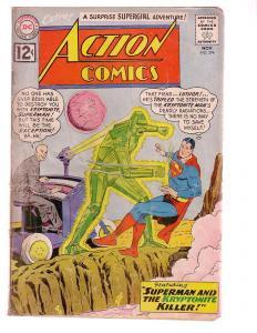 ACTION COMICS #294 1962-SUPERMAN-LEX LUTHOR COVER-fair FR