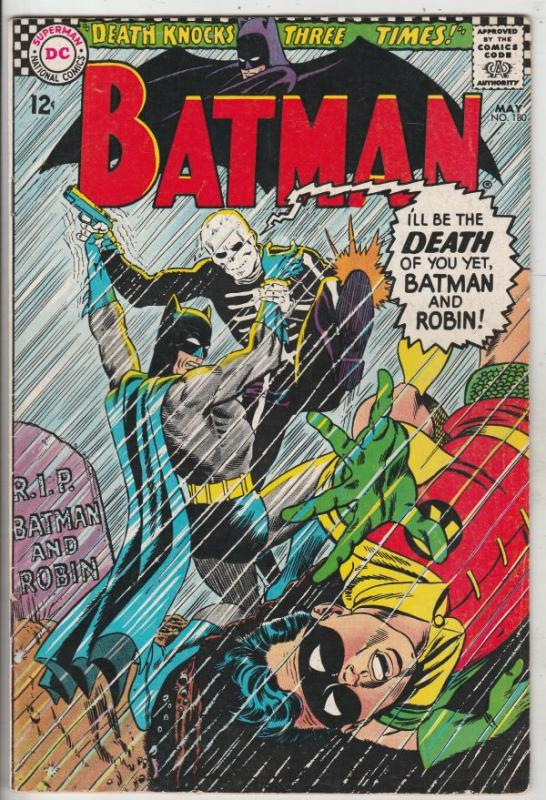 Batman #180 (May-66) VF/NM High-Grade Batman