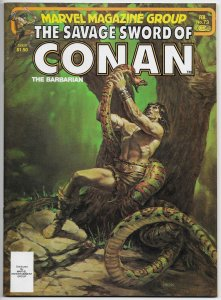 Savage Sword Of Conan Magazine #73 Chiodo Cvr | Buscema (Marvel, 1982) VF/NM