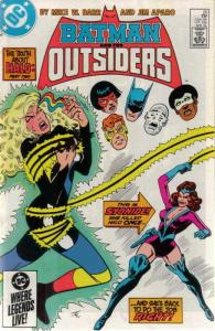 Batman and the Outsiders #20 VF/NM; DC   save on shipping - details inside