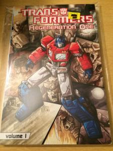 The Transformers: Regeneration One volume 1