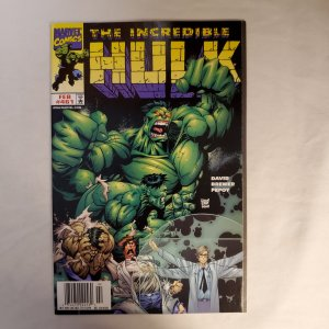 Incredible Hulk 461 Very Fine+ Art by Adam Kubert