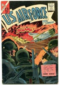 U.S. Air Force #37 JUNGLE PILOT PARACHUTE STORY VG