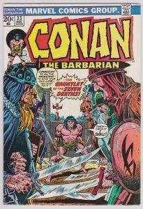 Conan the Barbarian #33 (VF) Bronze Age, 1973