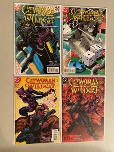 Catwoman Wildcat set #1-4 6.0 FN (1998)