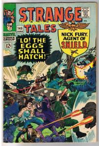 STRANGE TALES #145, FN+, Nick Fury, Jack Kirby, 1951, more in store, Silver age