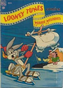 Looney Tunes and Merrie Melodies Comics #89, VG+ (Stock photo)