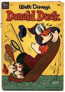 Walt Disney' Donald Duck #36 1954- Dell Comics G