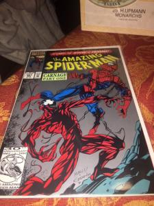 Amazing Spider-Man #361 HTF 2nd print