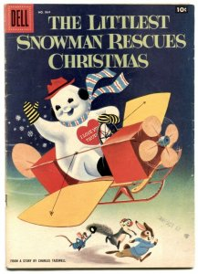 Littlest Snowman Rescues Christmas- Four Color Comics #864 VG+