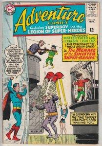 Adventure Comics #338 (Nov-65) VG/FN Mid-Grade Legion of Super-Heroes, Superboy