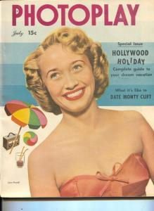 Photoplay-Jane Powell-Humphrey Bogart-Ann Sothern-Richard Widmark-July-1949