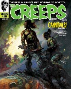 THE CREEPS #18 - FIRST PRINTING - COMIC HORROR MAGAZINE