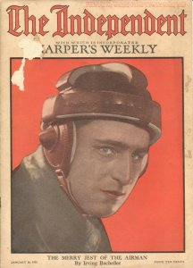 The Independent 1/26/1918-WWI issue 100+ years old-incorporates Harper's Week...