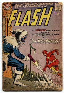 THE FLASH #114-KID FLASH-KING OF THE BEATNIKS-CAPTAIN COLD-DC-1960-G