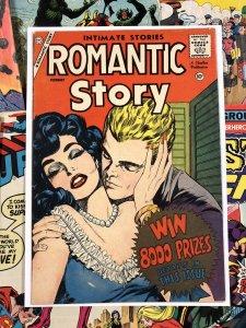 Romantic Story #42 F/VF 7.0 charlton publication 10c GOLDEN AGE romance comics