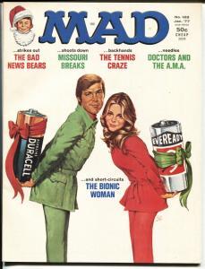 MAD #188-1977-Don Martin-Bionic Woman-Bad News Bears HIGH GRADE
