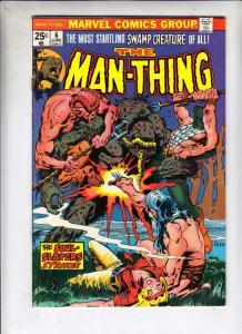 Man-Thing #6 (Jun-74) VF+ High-Grade Man-Thing