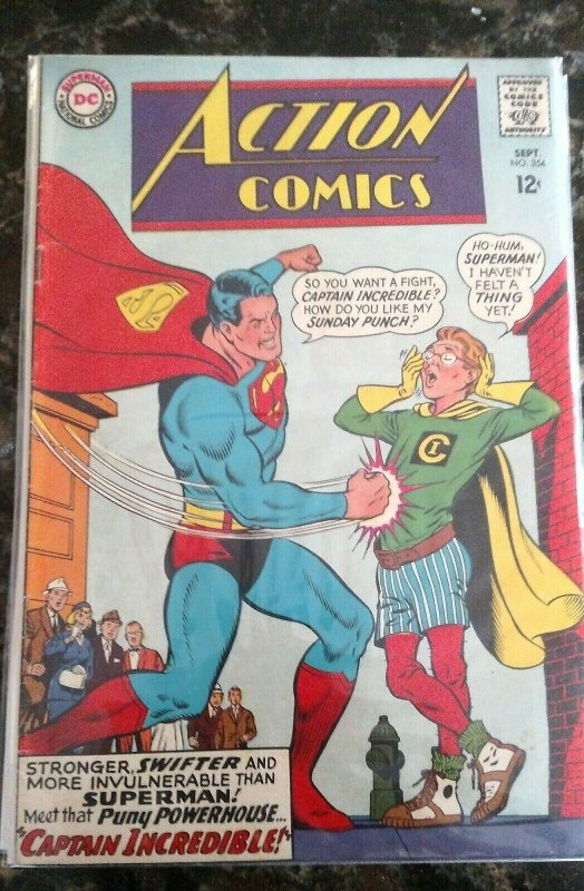 Action Comics #354 (DC, 1967) FN/VF