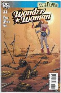Wonder Woman (vol. 3, 2006) # 33 VG/FN (Rise of the Olympian 6) Simone/Lopresti