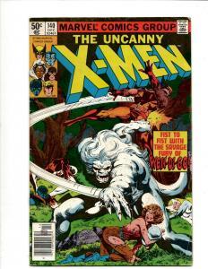 Uncanny X-Men # 140 FN- Marvel Comic Book Wolverine Wendigo Storm Cyclops DS4