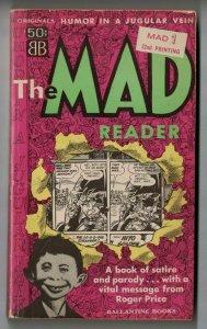 The Mad Reader #1 (22nd printing) VG Ballantine Books 1967- magazine - paperback
