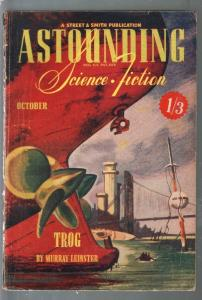 Astounding Science Fiction British Edition 10/1944-sci-fi pulp fiction-Leinster-