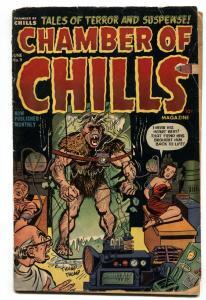 CHAMBER OF CHILLS #9 PCH-1952-HARVEY-BONDAGE--VIOLENT--G