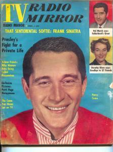 TV Radio Mirror-Perry Como-Arlene Francis-Dorothy Olsen-Dec-1957