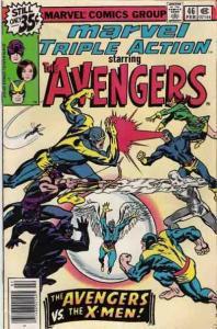 Marvel Triple Action (1972 series) #46, Fine- (Stock photo)