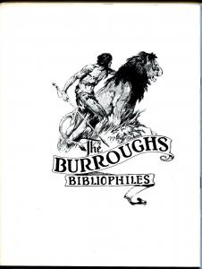 Burroughs Bulletin #59 1976-Girl From Farris's-Frank Frazetta-ERB-VF/NM