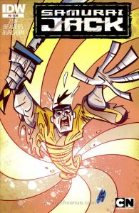 Samurai Jack #9 VF/NM; IDW | save on shipping - details inside