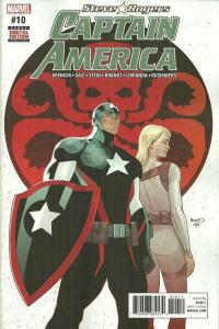 Captain America: Steve Rogers #10, NM (Stock photo)