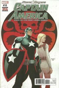 Captain America: Steve Rogers #10, NM + (Stock photo)