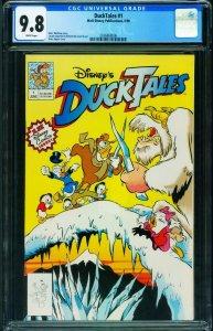 Ducktales #1 CGC 9.8 1990-Disney comics first issue-2036868006
