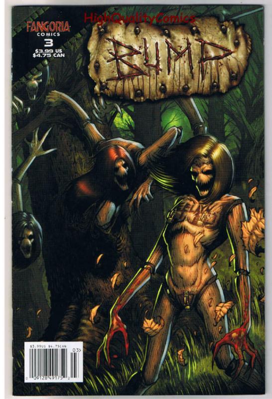 BUMP #1 2 3 4, NM, Fangoria, Robert Kurtzman, Mark Kidwell, 2007, Horror