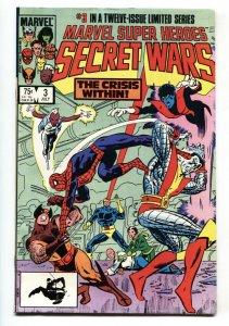 MARVEL SUPER HEROES SECRET WARS #3 First Volana + Titania comic book