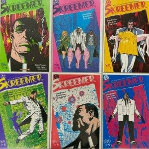 Skreemer set:#1-6 8.5 VF+ (1989)