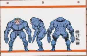 Official Handbook of the Marvel Universe Sheet- Quasimodo