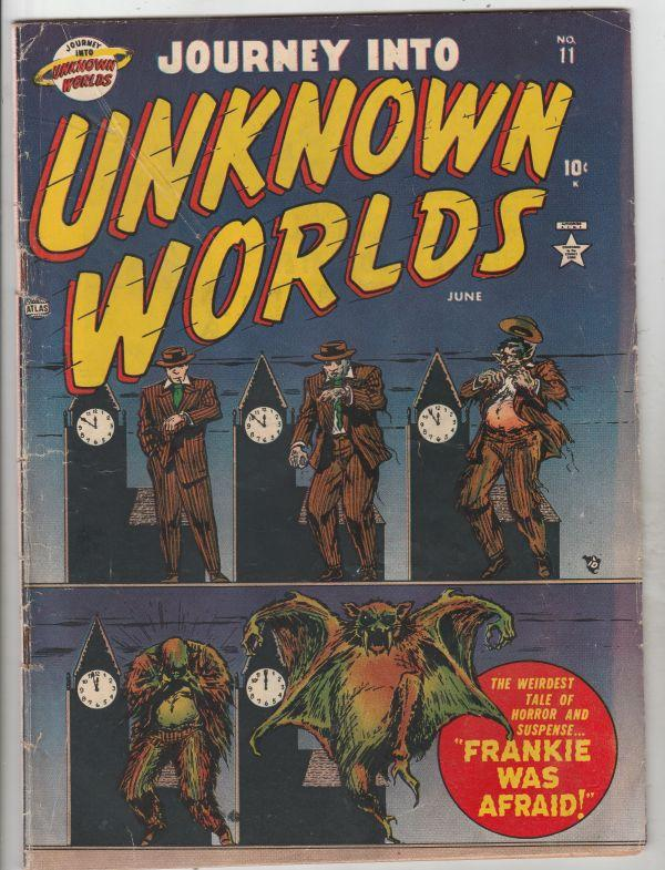 Journey Into Unknown Worlds #11 (Jun-52) VG+ Affordable-Grade