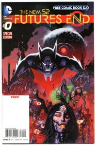 FUTURES END #0, NM, New 52, Wonder Woman, FCBD, 2014, more Promo/items in store
