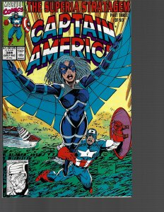 Captain America #389 (Marvel, 1991) NM